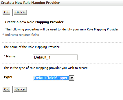 a New Role Mapping Provider: Default_1