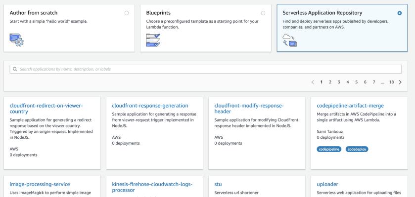 serverless-application-repository
